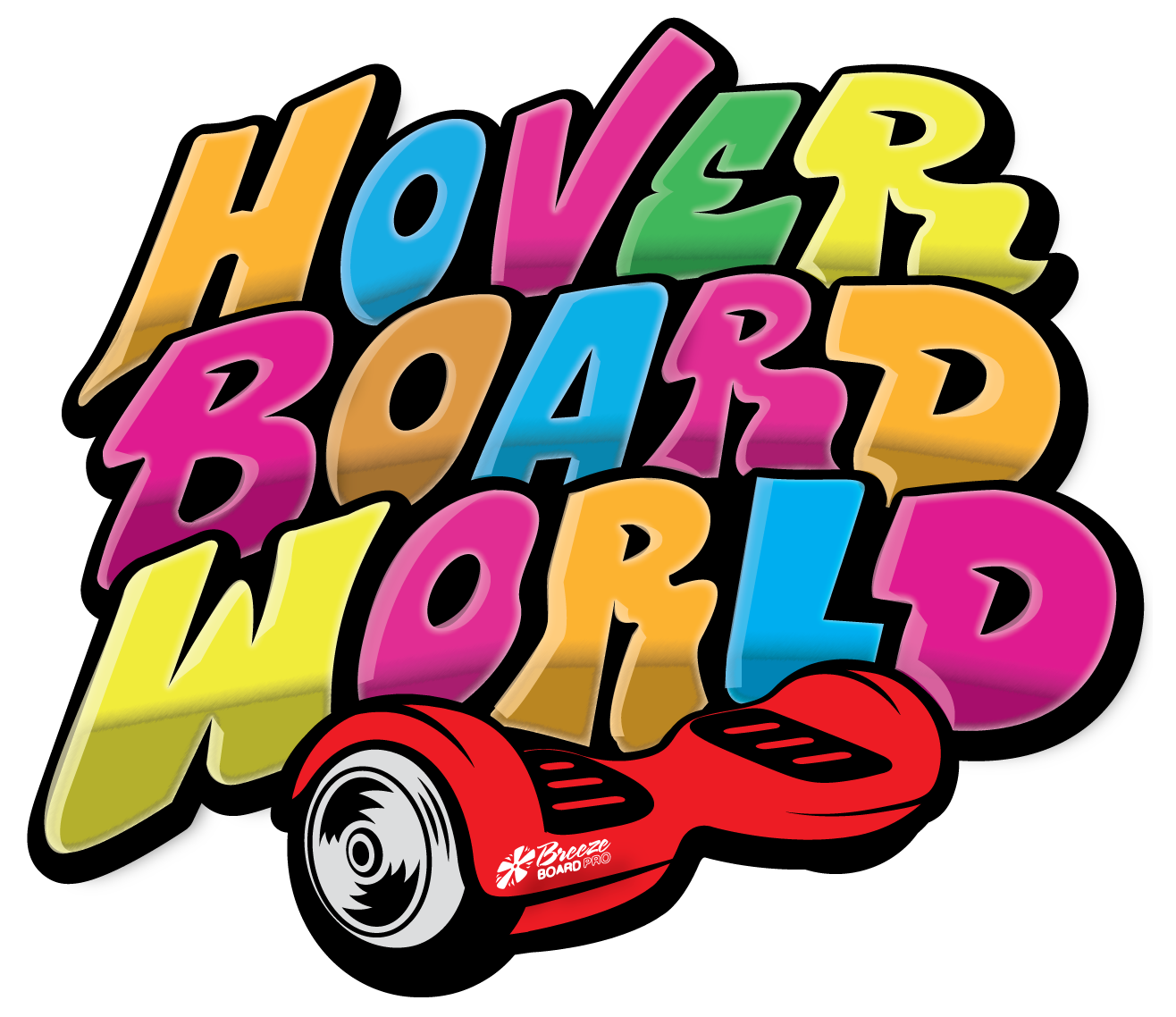 Hoverboard World Logo